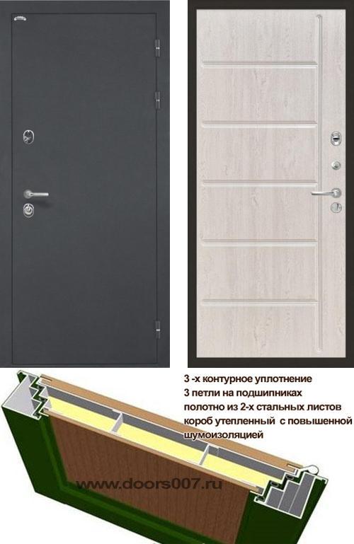 входные двери (стальные двери, металлические двери) DOORS007: дверь Интекрон Греция ФЛ-102