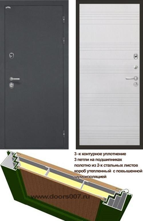 входные двери (стальные двери, металлические двери) DOORS007: дверь Интекрон Греция ФЛ-316