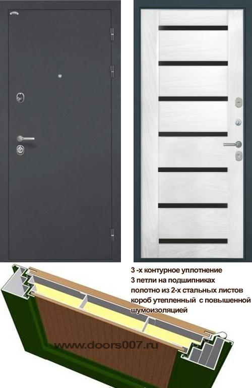 входные двери (стальные двери, металлические двери) DOORS007: дверь Интекрон Греция Фоджа, Цвет