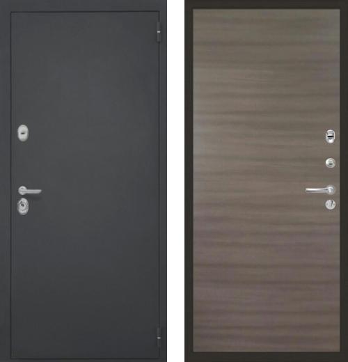 входные двери (стальные двери, металлические двери) DOORS007: дверь Интекрон Гектор Гладкая, Цвет
