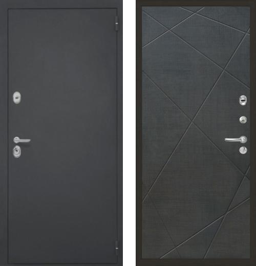 входные двери (стальные двери, металлические двери) DOORS007: дверь Интекрон Гектор Лучи