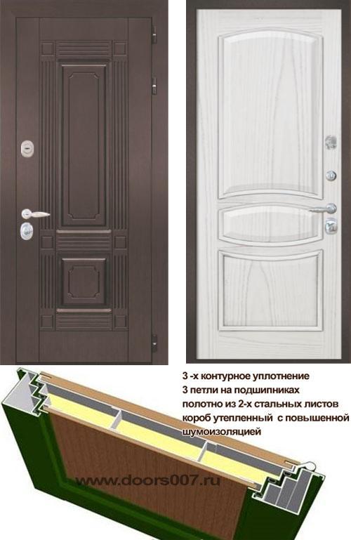 входные двери (стальные двери, металлические двери) DOORS007: дверь Интекрон Италия 1, Цвет