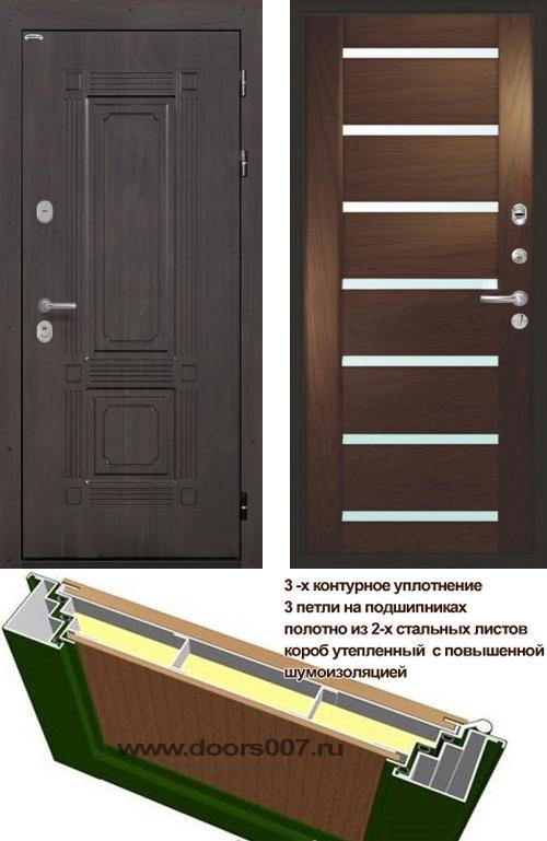 входные двери (стальные двери, металлические двери) DOORS007: дверь Интекрон Италия Фоджа Багет, Цвет
