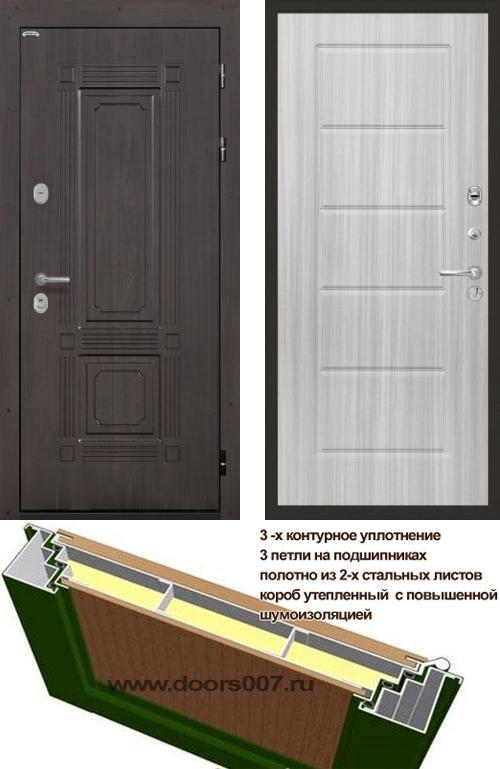 входные двери (стальные двери, металлические двери) DOORS007: дверь Интекрон Италия ФЛ-39