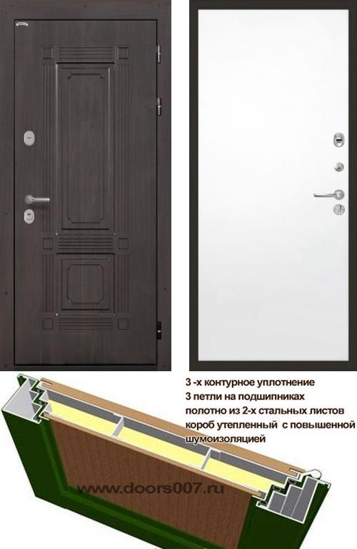 входные двери (стальные двери, металлические двери) DOORS007: дверь Интекрон Италия Гладкая, Цвет
