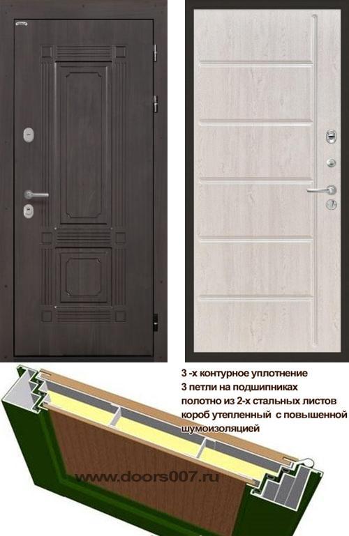 входные двери (стальные двери, металлические двери) DOORS007: дверь Интекрон Италия ФЛ-102