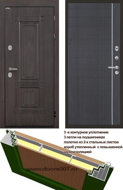 входные двери (стальные двери, металлические двери) DOORS007: дверь Интекрон Италия L5, Цвет