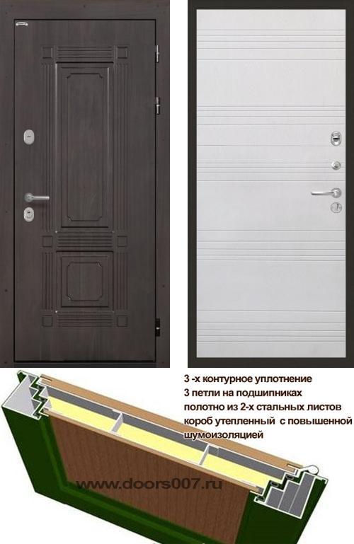 входные двери (стальные двери, металлические двери) DOORS007: дверь Интекрон Италия ФЛ-316