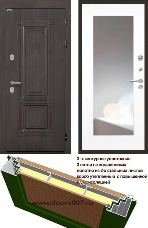 входные двери (стальные двери, металлические двери) DOORS007: дверь Интекрон Италия ФЛЗ-120