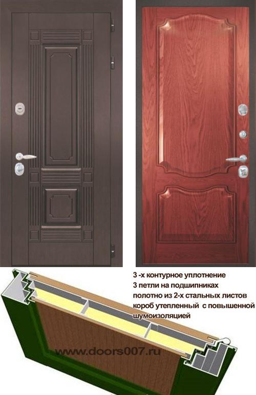входные двери (стальные двери, металлические двери) DOORS007: дверь Интекрон Италия 2, Цвет