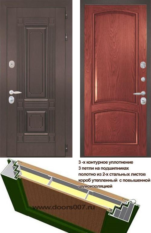 входные двери (стальные двери, металлические двери) DOORS007: дверь Интекрон Италия 3, Цвет