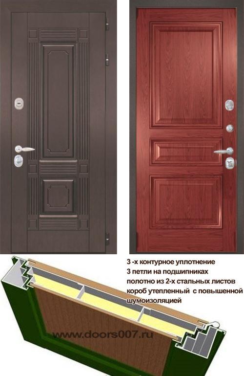 входные двери (стальные двери, металлические двери) DOORS007: дверь Интекрон Италия