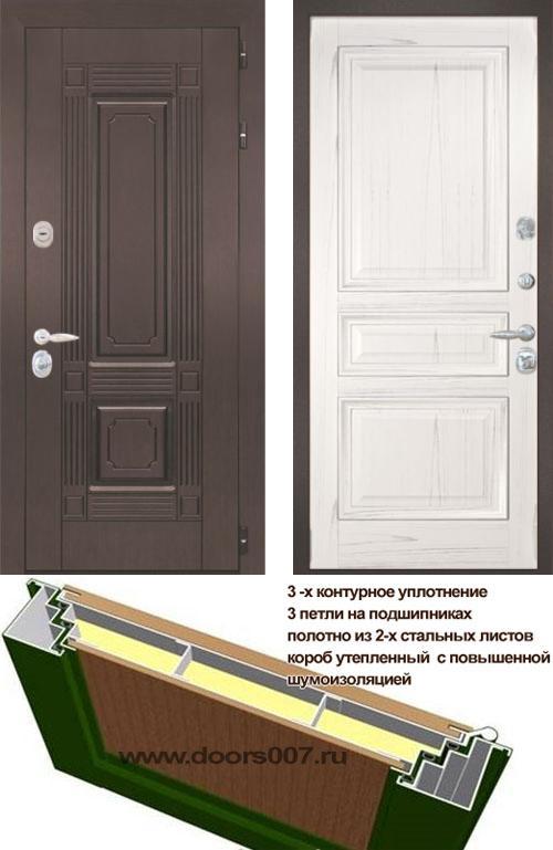 входные двери (стальные двери, металлические двери) DOORS007: дверь Интекрон Италия 4, Цвет