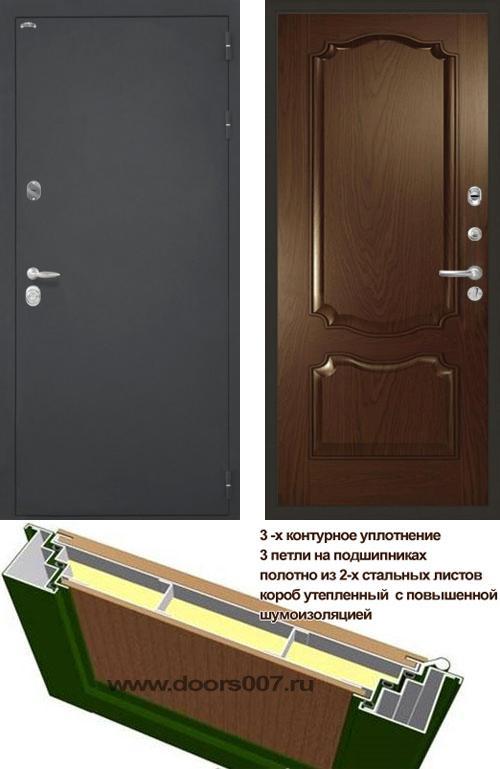 входные двери (стальные двери, металлические двери) DOORS007: дверь Интекрон Колизей Позитано Багет