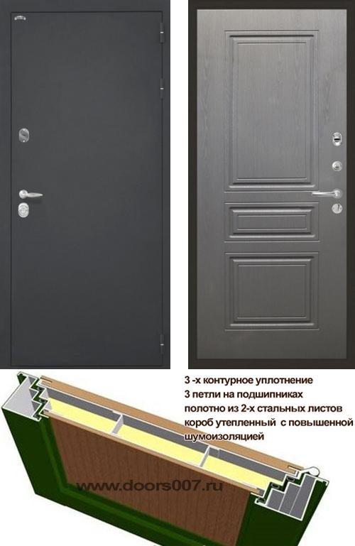 входные двери (стальные двери, металлические двери) DOORS007: дверь Интекрон Колизей ФЛ-243-М, Цвет