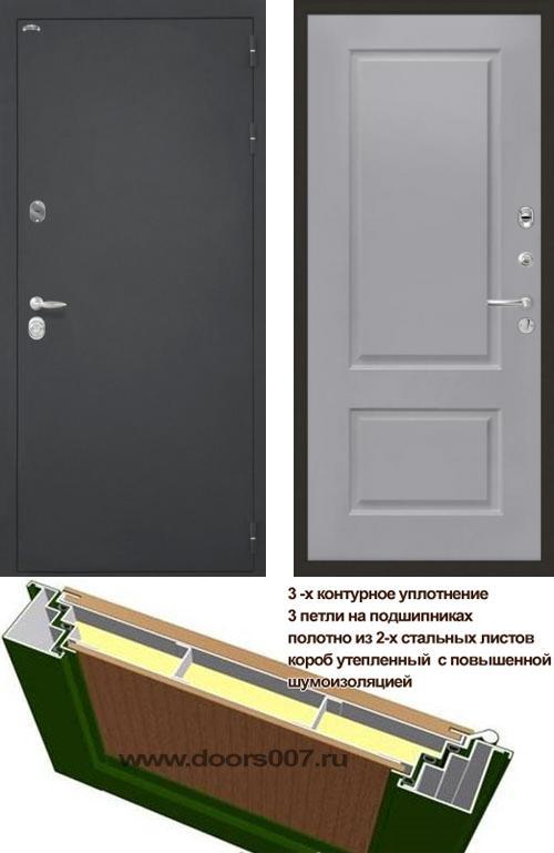 входные двери (стальные двери, металлические двери) DOORS007: дверь Интекрон Колизей Альба, Цвет