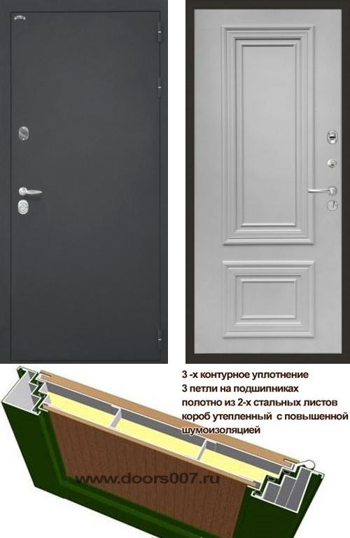 входные двери (стальные двери, металлические двери) DOORS007: дверь Интекрон Колизей Сан Ремо
