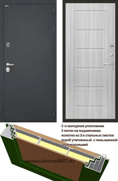 входные двери (стальные двери, металлические двери) DOORS007: дверь Интекрон Колизей ФЛ-39