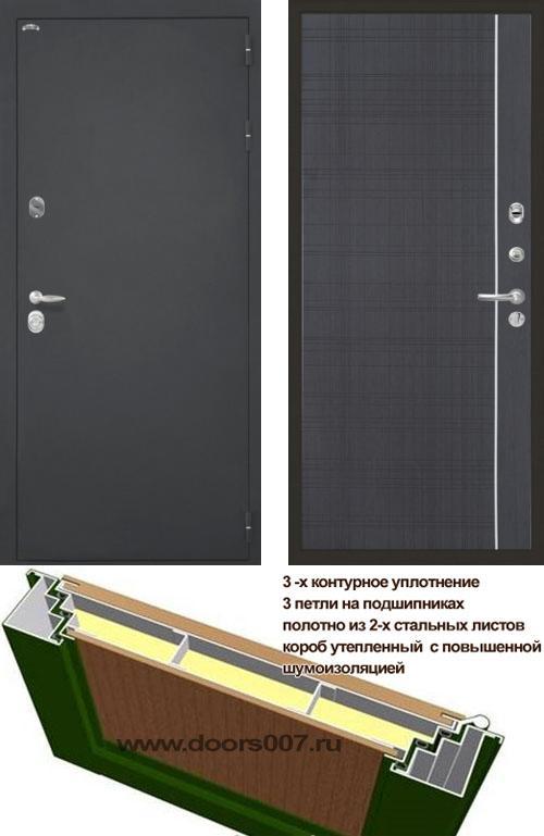 входные двери (стальные двери, металлические двери) DOORS007: дверь Интекрон Колизей L5, Цвет