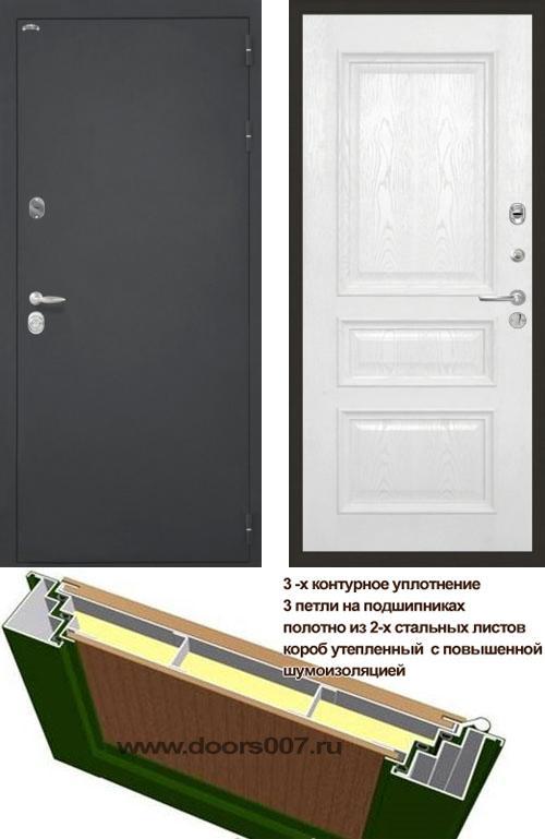 входные двери (стальные двери, металлические двери) DOORS007: дверь Интекрон Колизей Валентия 2, шпон