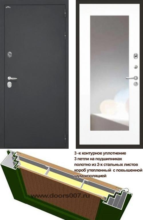 входные двери (стальные двери, металлические двери) DOORS007: дверь Интекрон Колизей ФЛЗ-120 Max