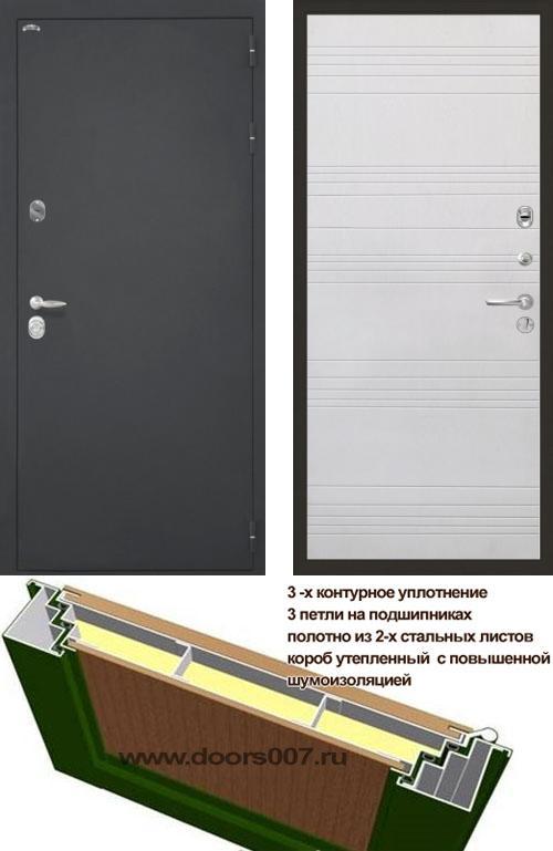 входные двери (стальные двери, металлические двери) DOORS007: дверь Интекрон Колизей ФЛ-316