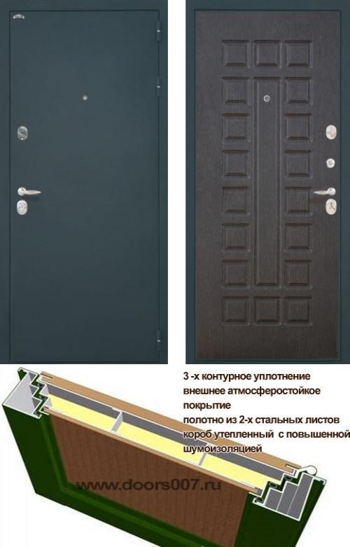 входные двери (стальные двери, металлические двери) DOORS007: дверь Интекрон Колизей