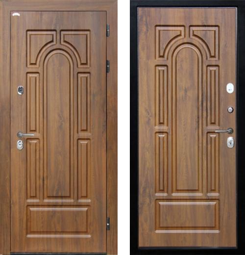 входные двери (стальные двери, металлические двери) DOORS007: дверь Интекрон Лира