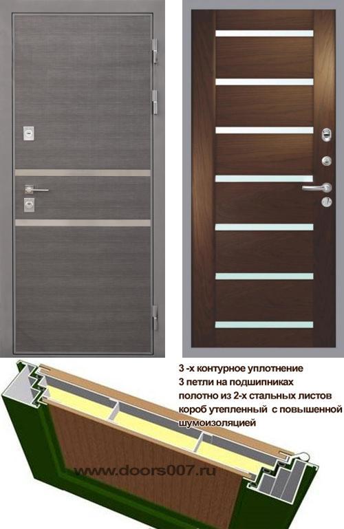входные двери (стальные двери, металлические двери) DOORS007: дверь Интекрон Неаполь Фоджа Багет, Цвет