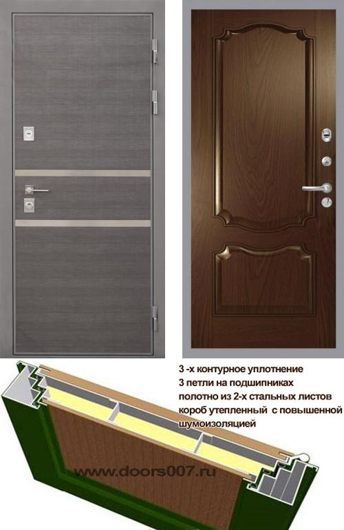 входные двери (стальные двери, металлические двери) DOORS007: дверь Интекрон Неаполь Позитано Багет