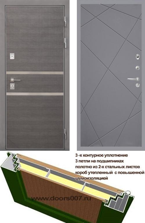 входные двери (стальные двери, металлические двери) DOORS007: дверь Интекрон Неаполь Лучи, Цвет