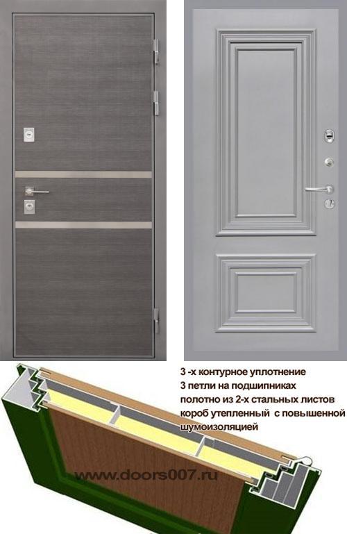входные двери (стальные двери, металлические двери) DOORS007: дверь Интекрон Неаполь Сан Ремо
