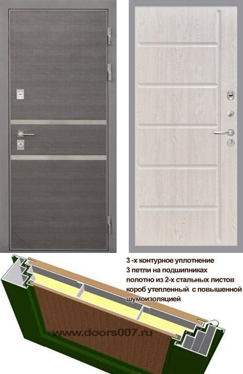 входные двери (стальные двери, металлические двери) DOORS007: дверь Интекрон Неаполь ФЛ-102