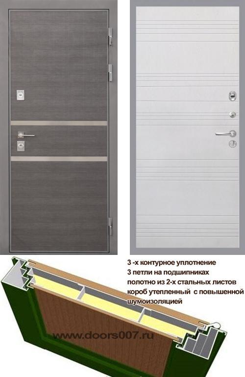 входные двери (стальные двери, металлические двери) DOORS007: дверь Интекрон Неаполь ФЛ-316