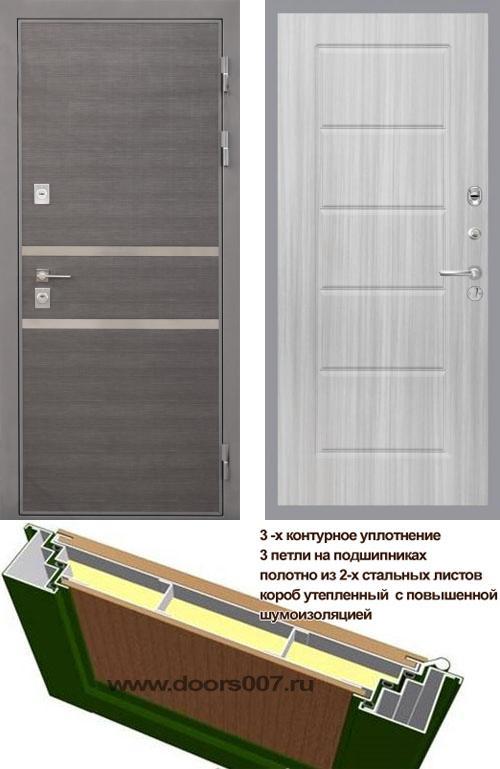 входные двери (стальные двери, металлические двери) DOORS007: дверь Интекрон Неаполь ФЛ-39