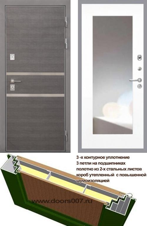 входные двери (стальные двери, металлические двери) DOORS007: дверь Интекрон Неаполь ФЛЗ-120