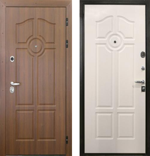 входные двери (стальные двери, металлические двери) DOORS007: дверь Интекрон Олимпия