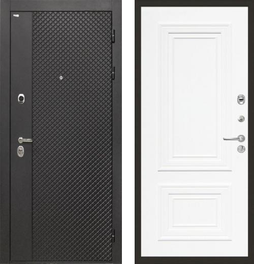 входные двери (стальные двери, металлические двери) DOORS007: дверь Интекрон Олимпия Black Сан Ремо