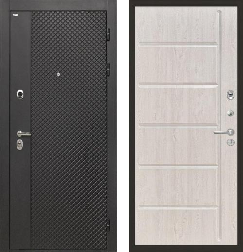 входные двери (стальные двери, металлические двери) DOORS007: дверь Интекрон Олимпия Black ФЛ-102