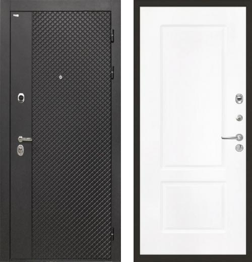 входные двери (стальные двери, металлические двери) DOORS007: дверь Интекрон Олимпия Black КВ-2