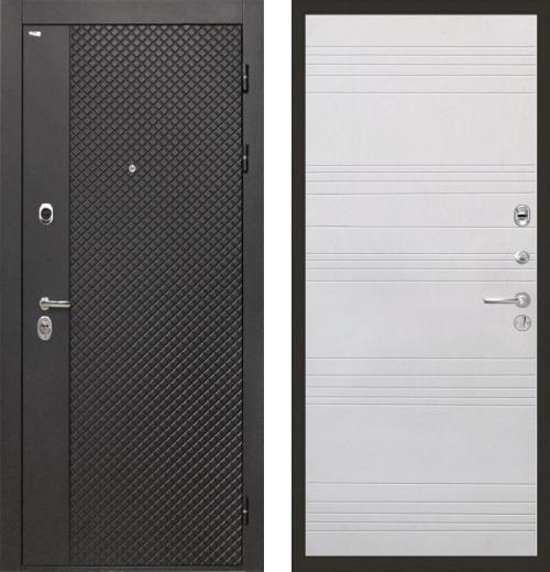 входные двери (стальные двери, металлические двери) DOORS007: дверь Интекрон Олимпия Black ФЛ-316