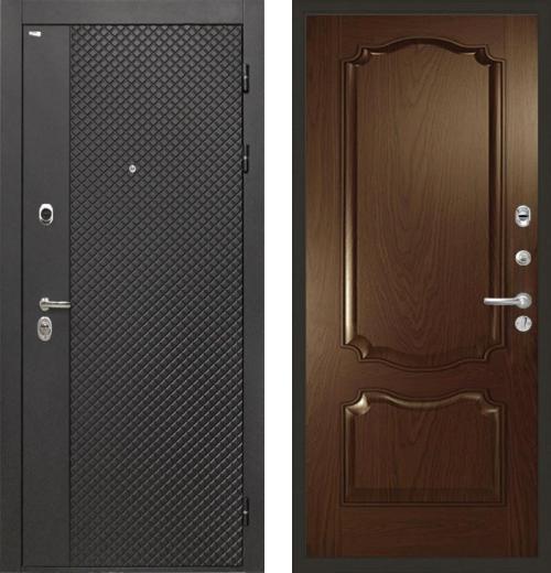 входные двери (стальные двери, металлические двери) DOORS007: дверь Интекрон Олимпия Black Позитано Багет
