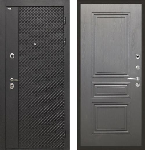 входные двери (стальные двери, металлические двери) DOORS007: дверь Интекрон Олимпия Black ФЛ-243-М, Цвет