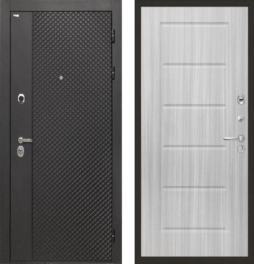 входные двери (стальные двери, металлические двери) DOORS007: дверь Интекрон Олимпия Black ФЛ-39