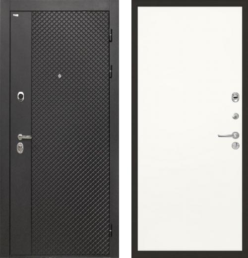 входные двери (стальные двери, металлические двери) DOORS007: дверь Интекрон Олимпия Black Гладкая, Цвет