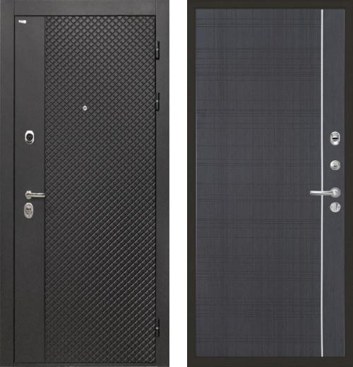 входные двери (стальные двери, металлические двери) DOORS007: дверь Интекрон Олимпия Black L5, Цвет