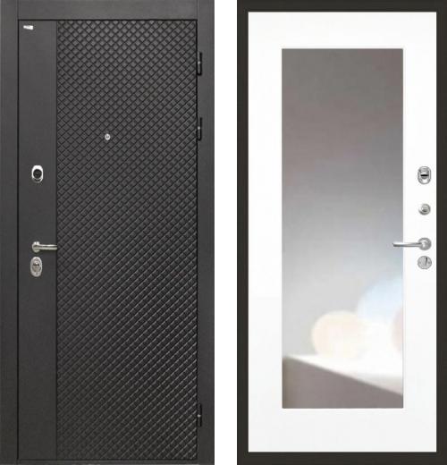 входные двери (стальные двери, металлические двери) DOORS007: дверь Интекрон Олимпия Black