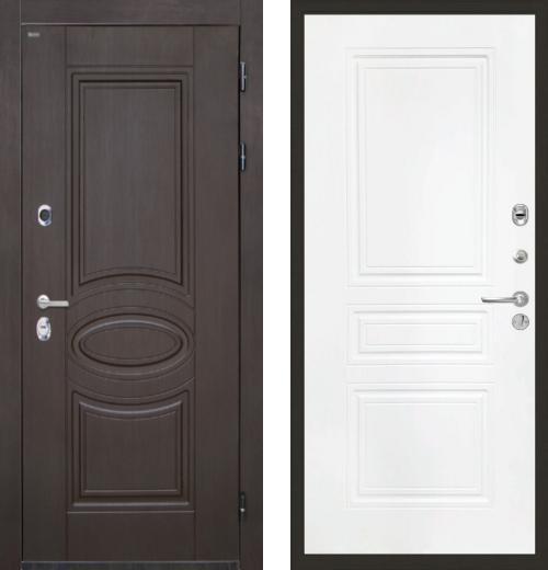 входные двери (стальные двери, металлические двери) DOORS007: дверь Интекрон Олимпия Венге ФЛ-243-М, Цвет