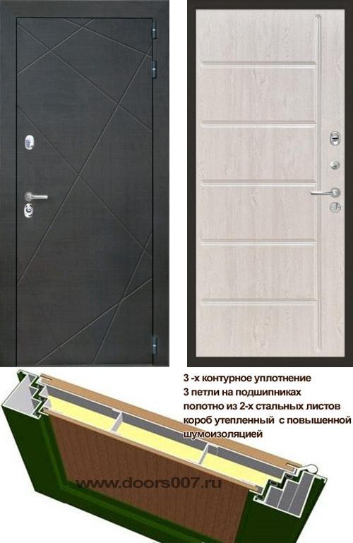 входные двери (стальные двери, металлические двери) DOORS007: дверь Интекрон Сенатор Лучи ФЛ-102