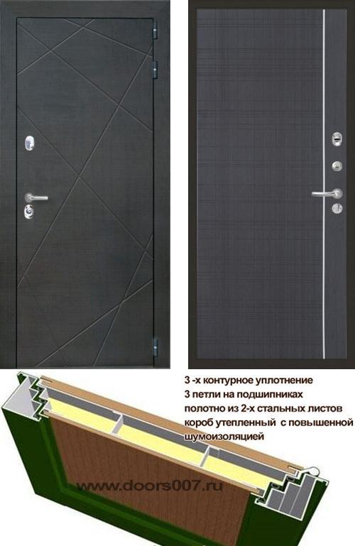 входные двери (стальные двери, металлические двери) DOORS007: дверь Интекрон Сенатор Лучи L5, Цвет